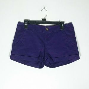 American Eagle Outfitters Shorts Womens 6 Purple M